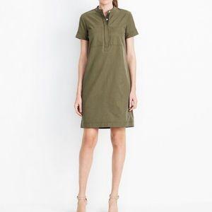 Army green tee shirt dress